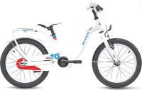 "Велосипед Scool Nixe 16"" steel white/blue/red"